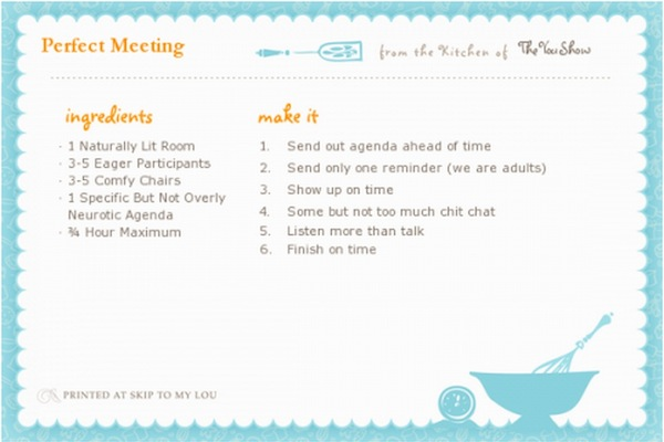 meeting-recipe