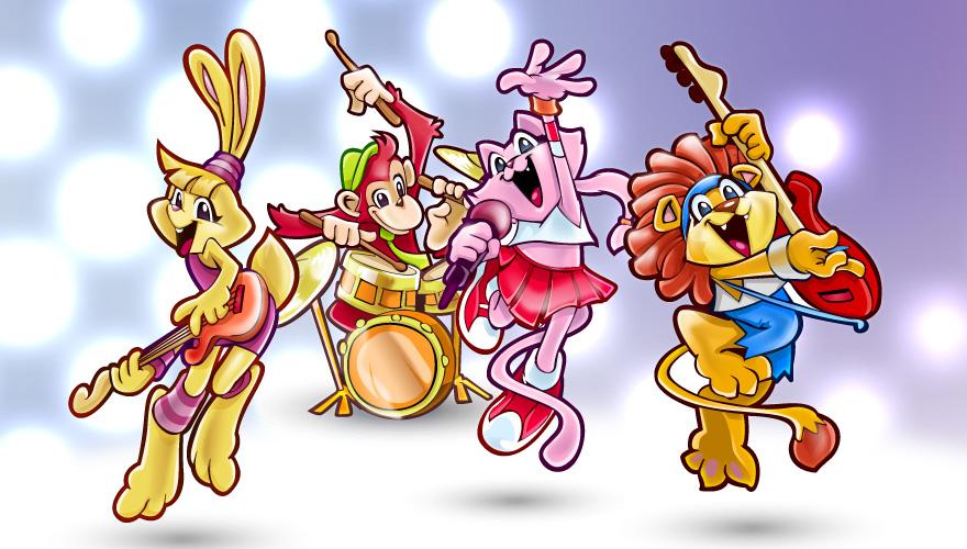 vector_animals_rock_band_by_pixeden-d45bidr